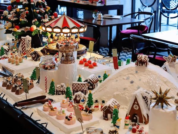 セントレジスホテル大阪のデザートビュッフェ(クリスマスマーケット)