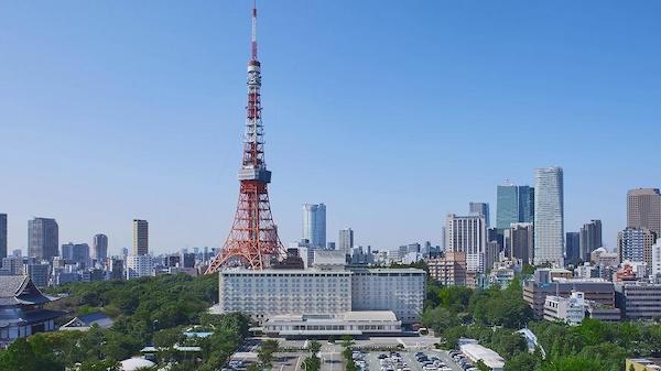 東京プリンスホテル『ポルト』のブッフェ(外観)