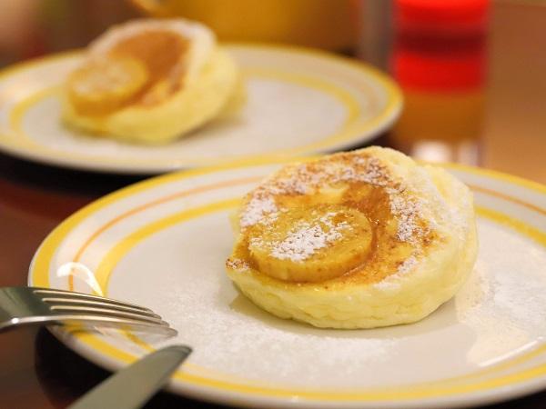 bills大阪のアフタヌーンティー(リコッタチーズパンケーキ)