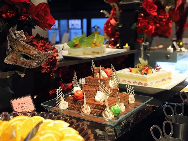 アートホテル大阪ベイタワー「スカイビュッフェ51」デザートコーナー