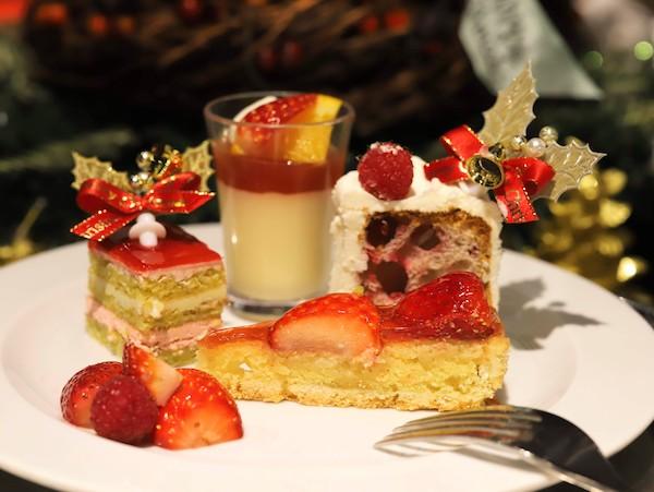 サンシャインシティプリンスホテルのディナービュッフェ|シェフズパレット(スイーツ盛り合わせ)
