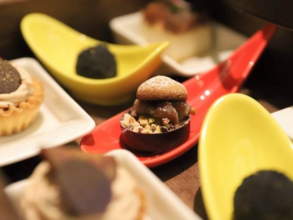 インターコンチネンタルホテル大阪のアフタヌーンティー(チョコレート)