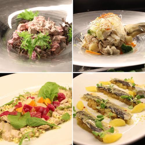 ヒルトン大阪のランチ&ディナービュッフェ(前菜)