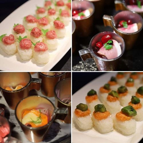 アートホテル大阪ベイタワー「スカイビュッフェ51」のっけ寿司