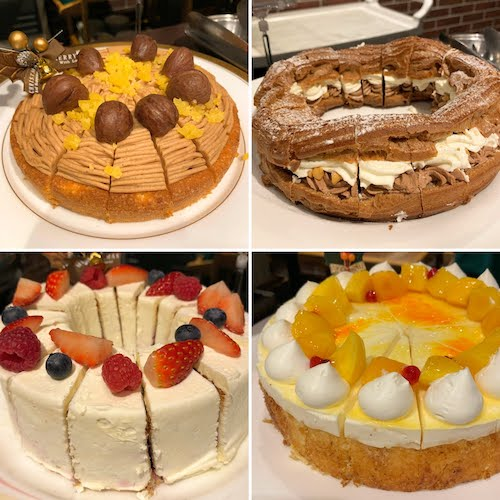 サンシャインシティプリンスホテルのスイーツビュッフェ|シェフズパレット(ケーキ)