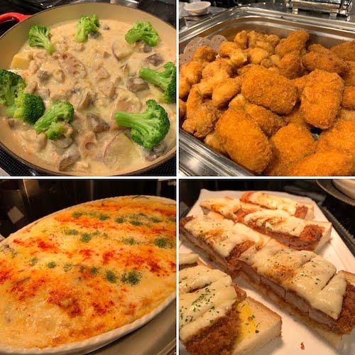 サンシャインシティプリンスホテルのスイーツビュッフェ|シェフズパレット(軽食)