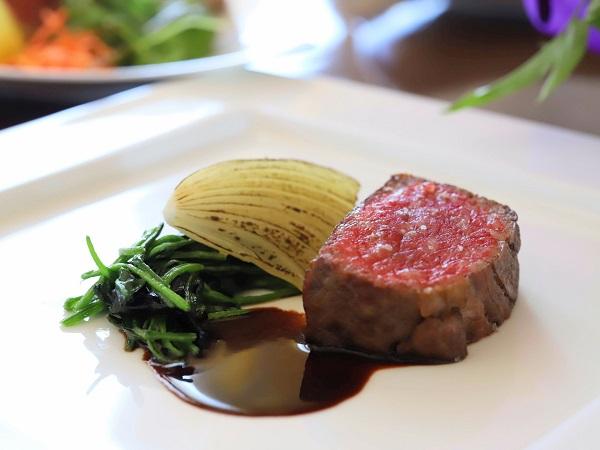 セントレジスホテル大阪のビュッフェ(肉)
