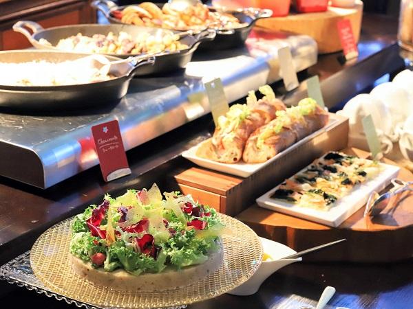セント レジス ホテル 大阪のデザートブッフェ(セイボリー)