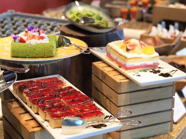 インターコンチネンタルホテル大阪のランチブッフェ(デザートコーナー)