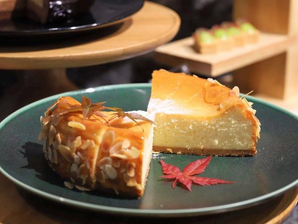 ANAクラウンプラザホテル大阪のランチブッフェ(チーズケーキ)