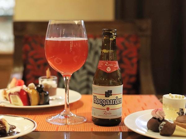 リッツカールトン大阪のスイーツブッフェ(ベルギービール)
