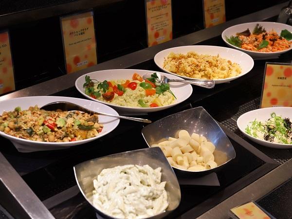 リーガロイヤルホテルのビュッフェ(前菜)