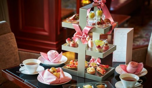 【ピンクのリボン】ANAクラウンプラザホテル大阪のアフタヌーンティー