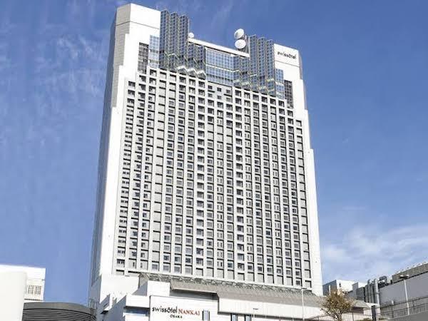 スイスホテル南海大阪のアフタヌーンティー 外観