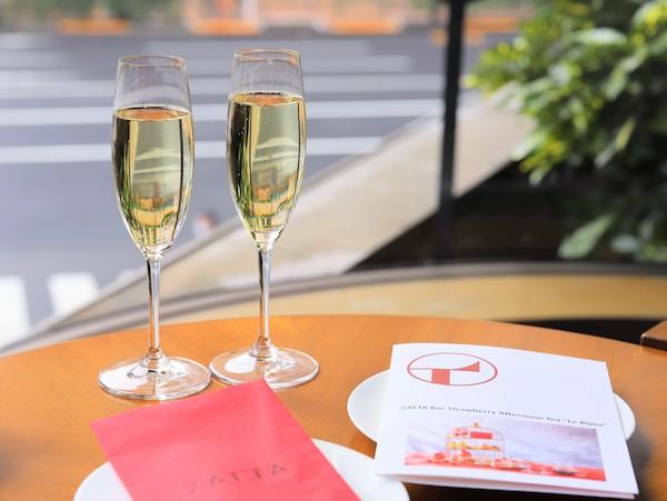 ヒルトン東京のアフタヌーンティー|ZATTA(シャンパン)