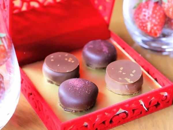ヒルトン東京のアフタヌーンティー|ZATTA(チョコレート)