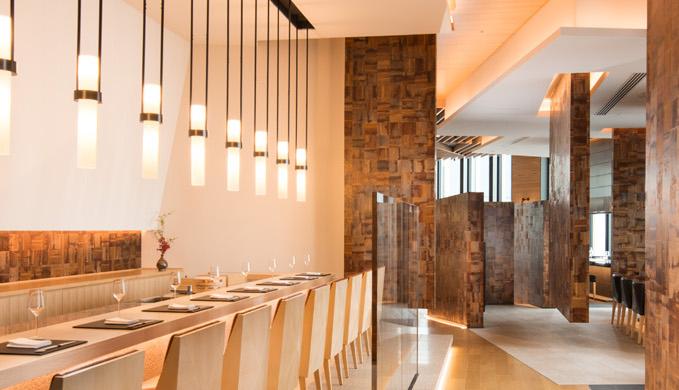 コンラッド大阪のランチレストラン|蔵