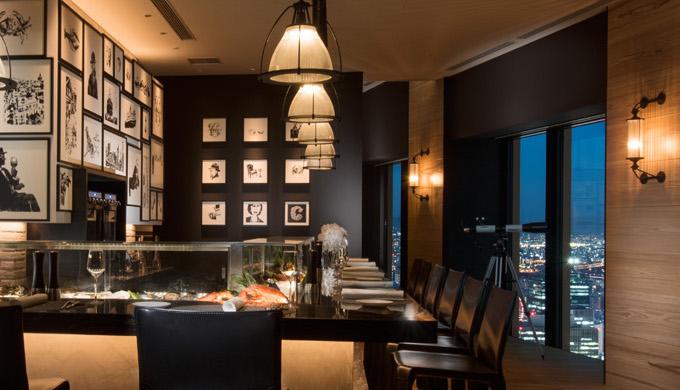 コンラッド大阪のランチレストラン|シーグリル