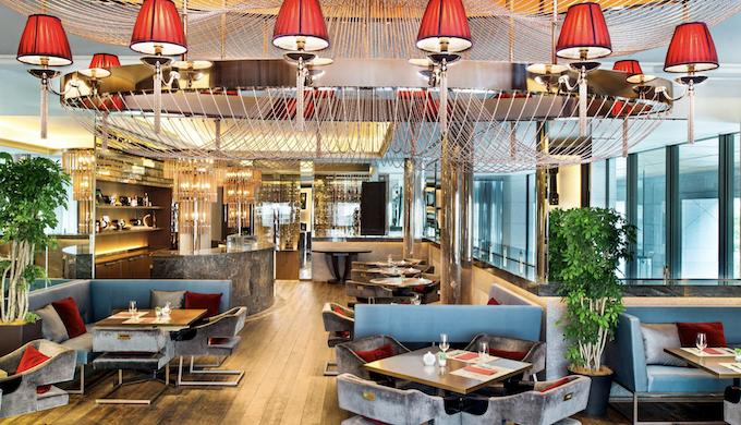 セントレジスホテル大阪のランチレストラン|ルドール