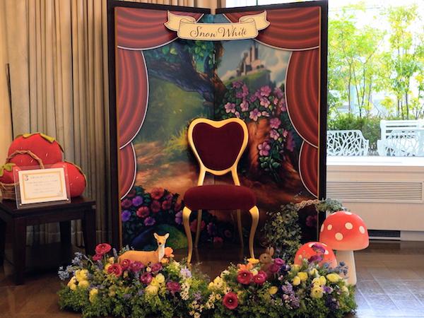 ホテル インターコンチネンタル 東京ベイのスイーツブッフェ|フォトスポット