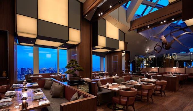 アンダーズ東京のランチレストラン|ラウンジ