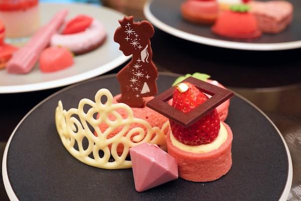 ANAインターコンチネンタルホテル東京のアフタヌーンティー|ティアラチョコレート