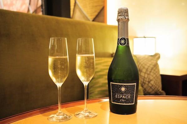 グランドプリンスホテル新高輪(Momiji)のハイティー|スパークリングワイン