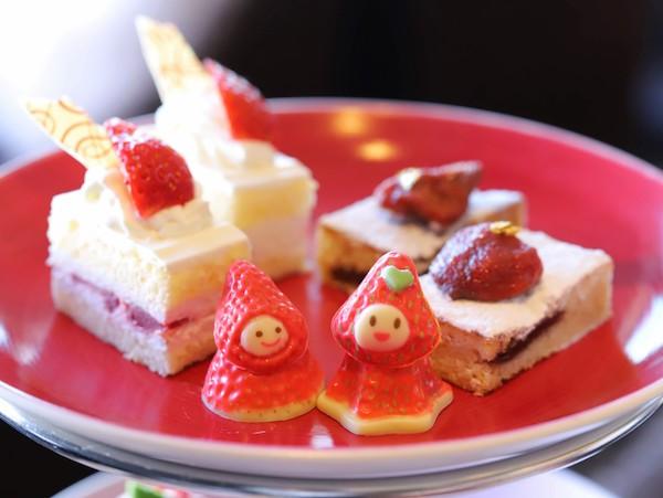 京王プラザホテルのアフタヌーンティー<オーロラ>|ショートケーキ