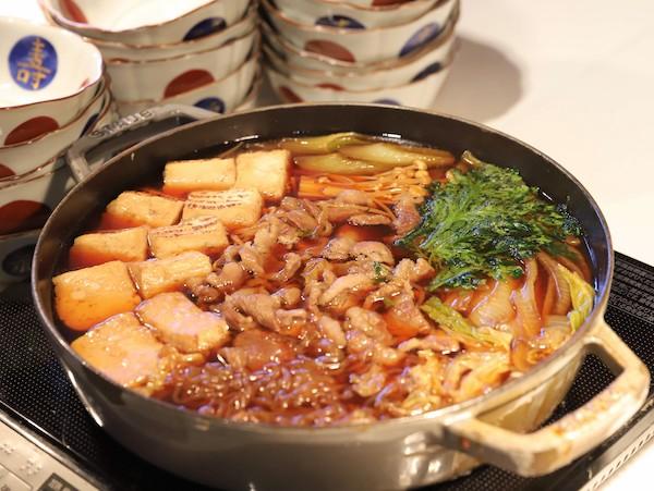 ヒルトン東京ベイのランチビュッフェ|すき焼き