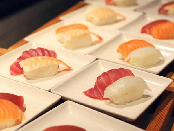 ヒルトン東京ベイのランチビュッフェ|寿司