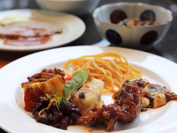 ヒルトン東京ベイのランチビュッフェ|皿盛り