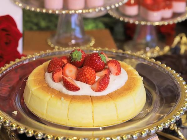 ホテル インターコンチネンタル 東京ベイのスイーツブッフェ|チーズケーキ