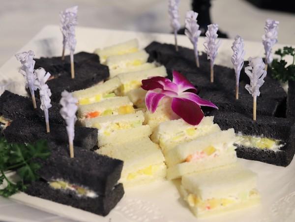 ホテル インターコンチネンタル 東京ベイのスイーツブッフェ|サンドイッチ
