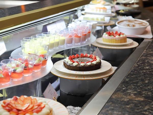 クロスダインのビュッフェ|デザートコーナー