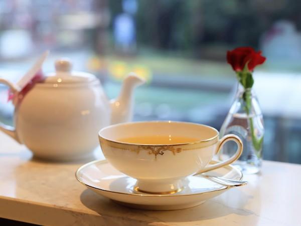 横浜ベイシェラトン「シーウインド」のアフタヌーンティー(紅茶)