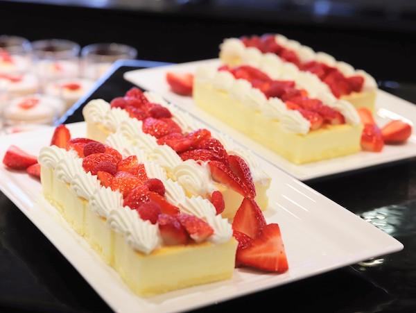 横浜ベイシェラトンのスイーツブッフェ|チーズケーキ