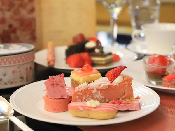 ANAインターコンチネンタルホテル東京のスイーツブッフェ|皿盛り