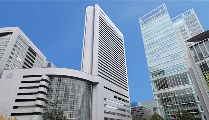 ヒルトン大阪でランチ【外観】