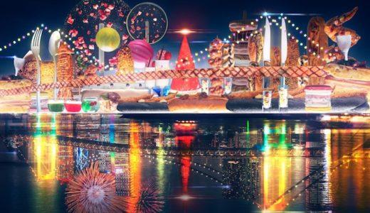 ヒルトン東京お台場のデザートビュッフェ!~NEO DAIBA Presents~ ミライ・エンニチ☆「シースケープ テラス・ダイニング」