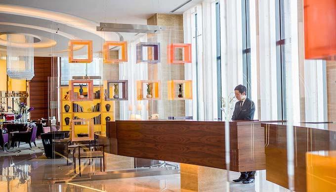 インターコンチネンタルホテル大阪のランチ