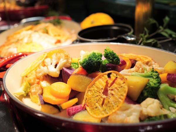 ホテルニューオータニ幕張のランチビュッフェ|温野菜