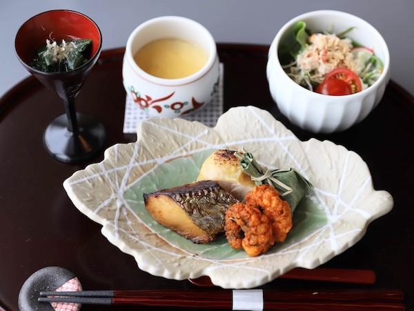 新横浜プリンスホテル「羽衣」|寿司アフタヌーンティー(前菜)