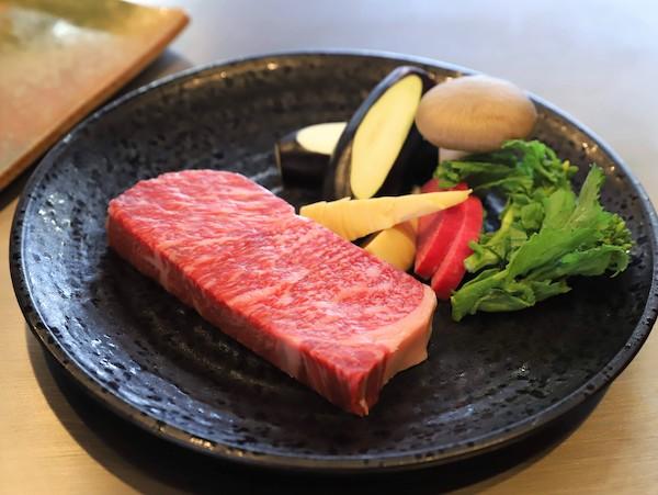 グランドプリンスホテル高輪「桂」の鉄板焼ランチ(黒毛和牛)