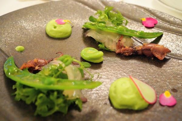 グランドプリンスホテル高輪 トリアノンのディナー|前菜