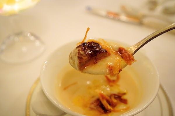 グランドプリンスホテル高輪 トリアノンのディナー|スープ
