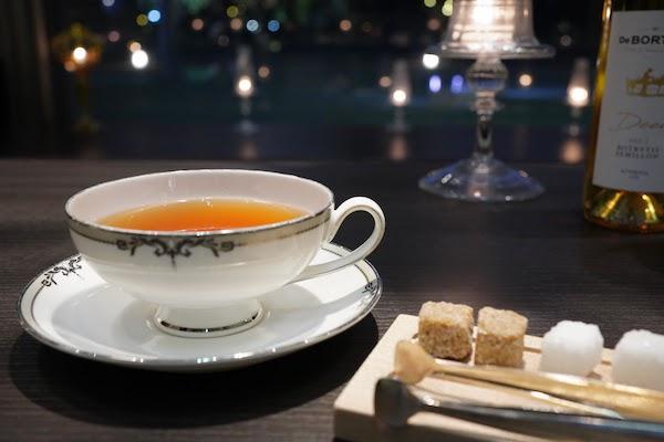 グランドプリンスホテル高輪 トリアノンのディナー|紅茶