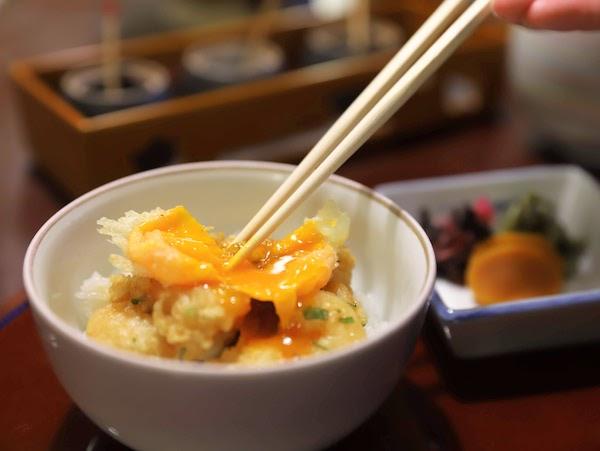 グランドプリンスホテル高輪「若竹」の天麩羅ランチ|天丼