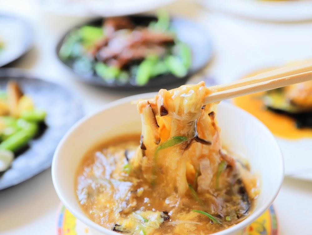 グランドプリンスホテル新高輪(品川)|古稀殿のオーダーバイキング 酸辣麺