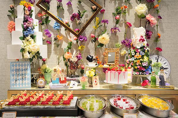 ホテル インターコンチネンタル 東京ベイのスイーツブッフェ|ビュッフェ台2