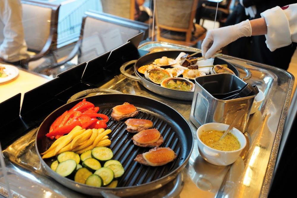 グランドプリンスホテル新高輪|ザクロのディナーブッフェ(網焼き)
